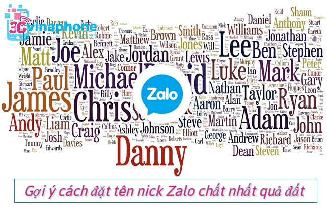 Gợi ý cách đặt tên nick Zalo chất nhất quả đất