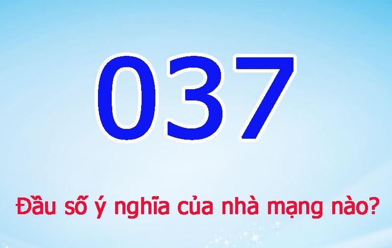Đầu số 0378 thuộc nhà mạng Viettel