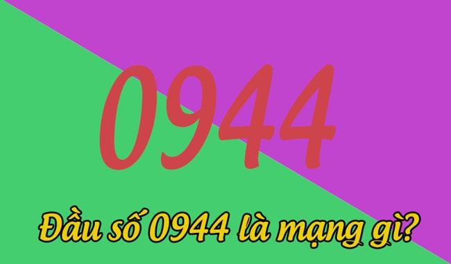 Đầu số điện thoại 0944 của nhà mạng Vinaphone