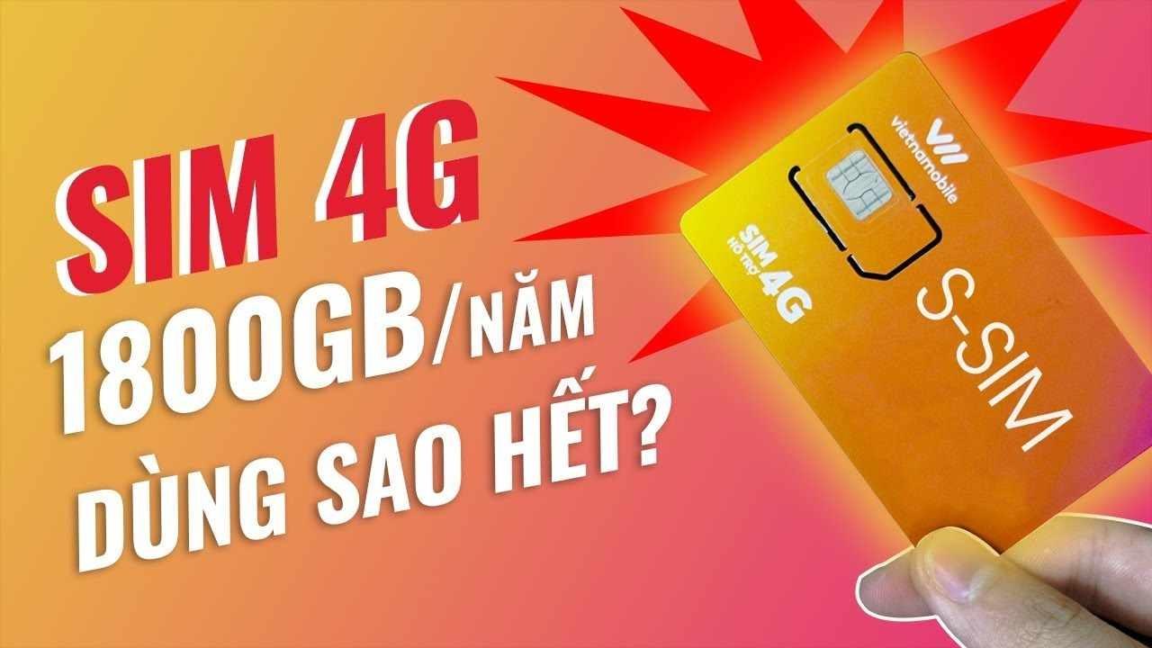 Mua sim 4G Vietnambile 1800GB 1 năm tại Pantechvn.vn