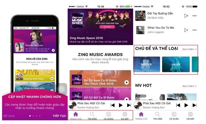 Dịch vụ nghe nhạc mp3 trực tuyến hoàn toàn miễn phí